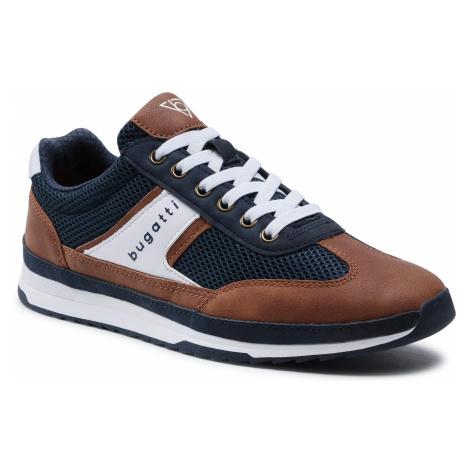 Sneakersy BUGATTI - 321-A3A01-6959-4163 Dark Blue/Cognac