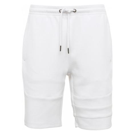 Urban Classics Spodnie 'Heavy Pique Shorts' biały