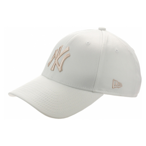 czapka z daszkiem New Era 9FO Satin MLB New York Yankees - White/Pink