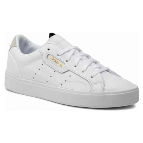 Buty adidas - Sleek W DB3258 Ftwwht/Ftwwht/Crywht