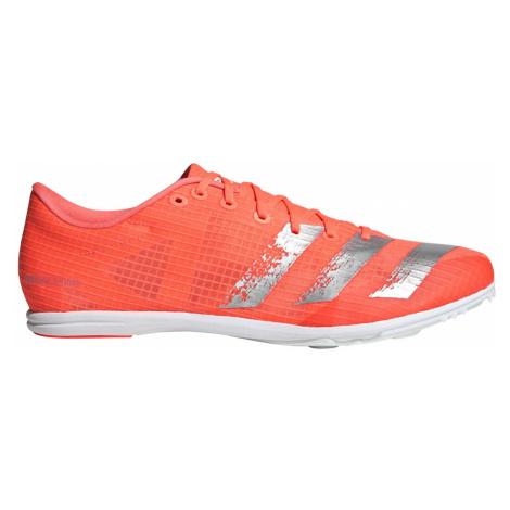 Buty adidas Distancestar Spikes M Pomarańczowo-Srebrne