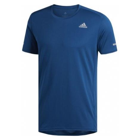 adidas RUN TEE M - Koszulka do biegania męska