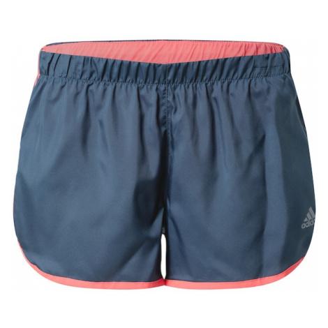 ADIDAS PERFORMANCE Spodnie sportowe 'Marathon' koralowy / podpalany niebieski