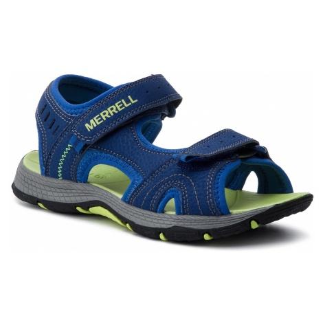 Sandały MERRELL - Panther Sandal MK261236 Blue/Green