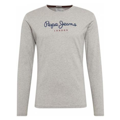 Pepe Jeans Koszulka 'EGGO LONG' ciemny niebieski / szary
