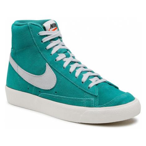 Nike Buty Blazer Mid '77 Suede CI1172 300 Zielony