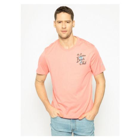 Guess T-Shirt Chill Tee M0GI17 K8HM0 Różowy Regular Fit