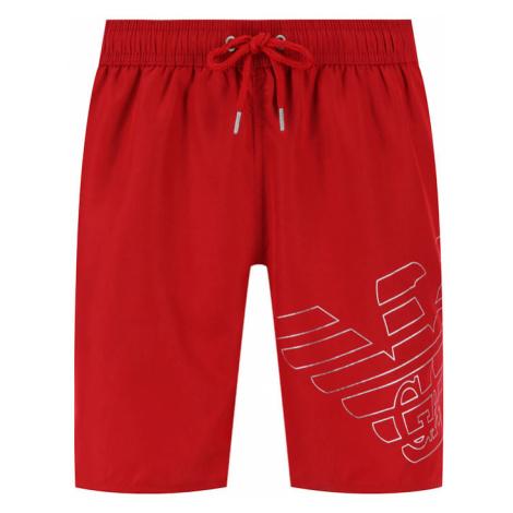 Emporio Armani Szorty kąpielowe 211740 0P427 00173 Czerwony Regular Fit