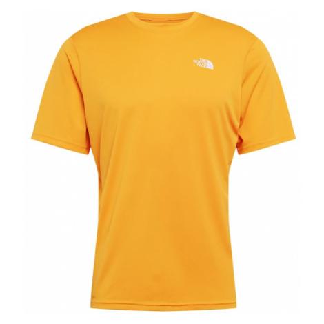 THE NORTH FACE Koszulka funkcyjna pomarańczowy
