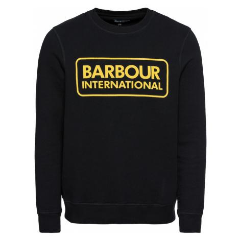 Barbour International Bluzka sportowa czarny / żółty