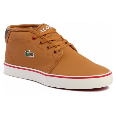 Sneakersy LACOSTE - Ampthill Thermo 419 1 Cuj 7-38CUJ000205B Tan/Blk