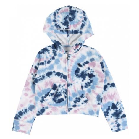 Abercrombie & Fitch Bluza rozpinana niebieski