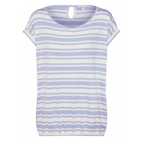 TOM TAILOR Koszulka niebieski / biały