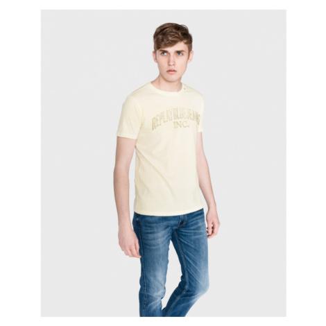 Replay Koszulka Żółty