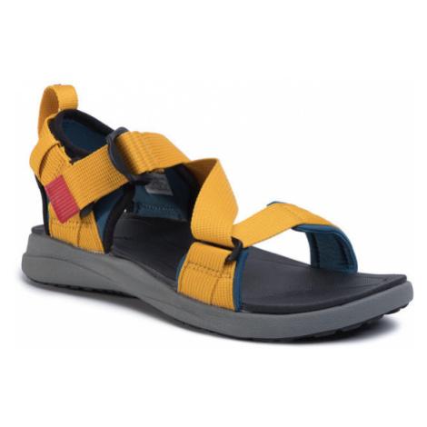 Columbia Sandały Sandal BM0102 Żółty