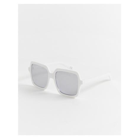 ASOS DESIGN oversized square frame sunglasses