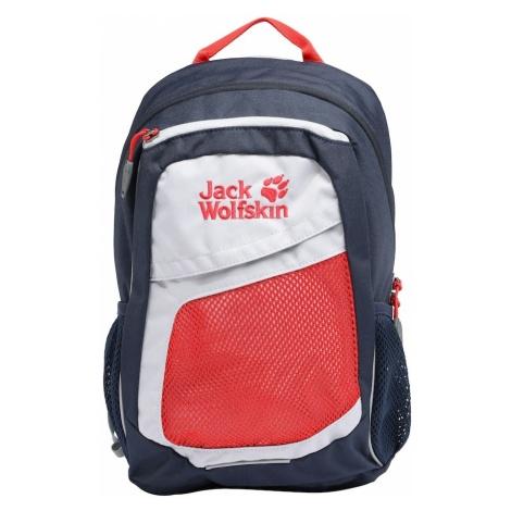JACK WOLFSKIN Plecak 'Track Jack' granatowy / jasnoczerwony / biały
