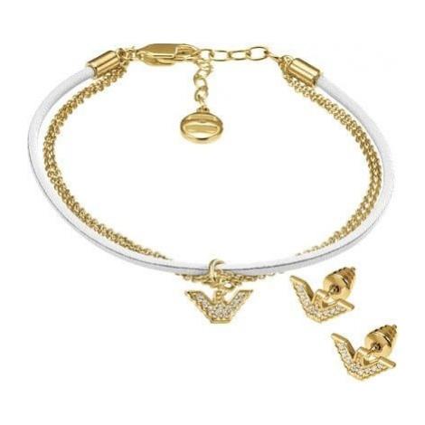 Emporio Armani Komplet biżuterii srebrnej EG3186710 srebro 925/1000