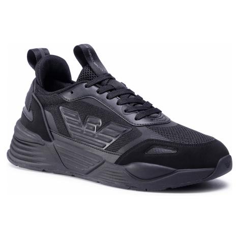 Sneakersy EA7 EMPORIO ARMANI - X8X070 XK165 A083 Triple Black