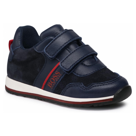 Sneakersy BOSS - J09148 S Navy 849 Hugo Boss