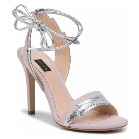 Sandały PINKO - Chiodi Di Garofano PE 20 BLKS1 1H20QF Y624 Light Pink P26