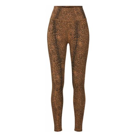 Ragdoll LA Legginsy 'Leopard' brązowy