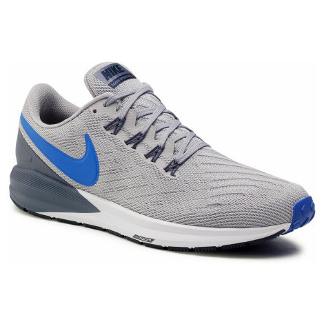 Buty NIKE - Air Zoom Structure 22 AA1636 003 Atmosphere Grey/Hyper Royal