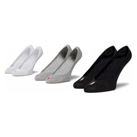 Polo Ralph Lauren Zestaw 3 par stopek unisex 455711304001 r. OS Biały