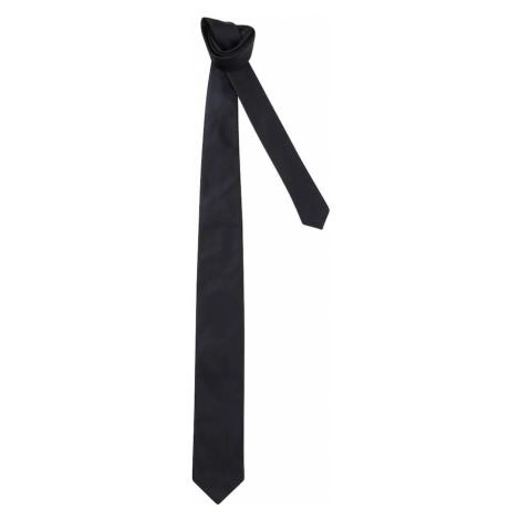 HUGO Krawat granatowy Hugo Boss