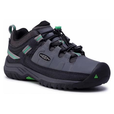 Trekkingi KEEN - Targhee Low Wp 1024011 Steel Grey/Irish Green