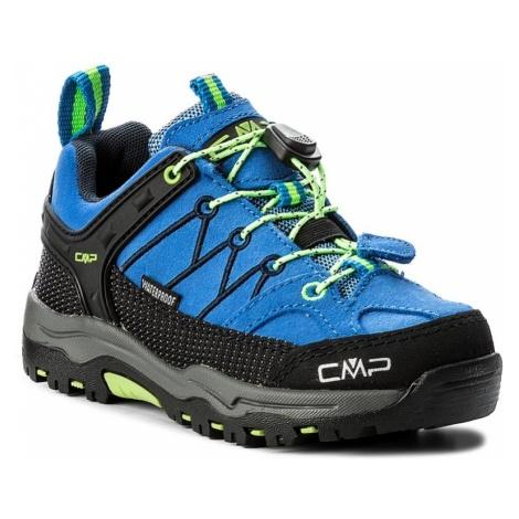 Trekkingi CMP - Kids Rigel Low Trekking Shoes Wp 3Q13244 Royal/Frog 94BD