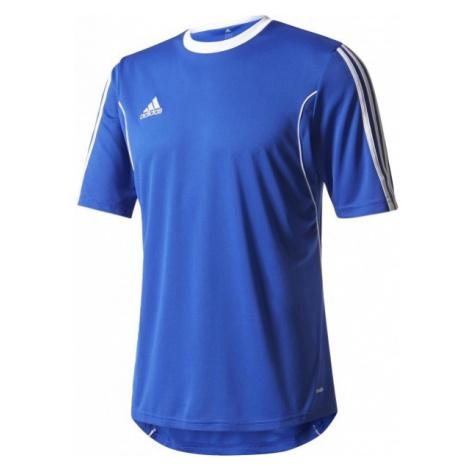 adidas SQUAD 13 JERSEY SS JR niebieski 152 - Strój piłkarski młodzieżowy