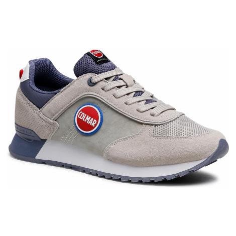 Sneakersy COLMAR - Travis Color 002 Lt Gray/Dusty Blue