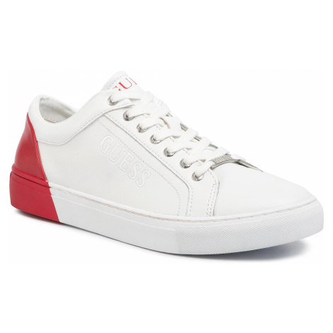Sneakersy GUESS - Luiss FM5LUI LEA12 WHIRE
