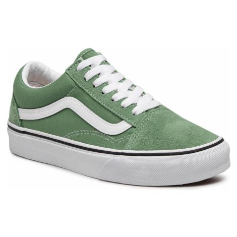 Tenisówki VANS - Old Skool VN0A3WKT4G61 Shale Green/True White