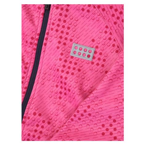 LEGO Wear Kurtka przeciwdeszczowa LWSam 201 21902 Różowy Regular Fit