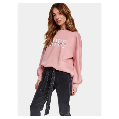 TOP SECRET różowy damska bluza