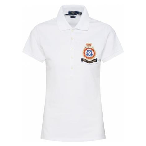 POLO RALPH LAUREN Koszulka 'JULIE W CRST' biały