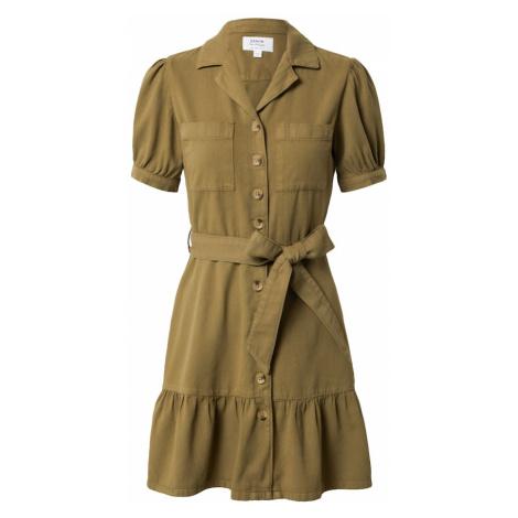 Miss Selfridge Sukienka koszulowa ciemnozielony