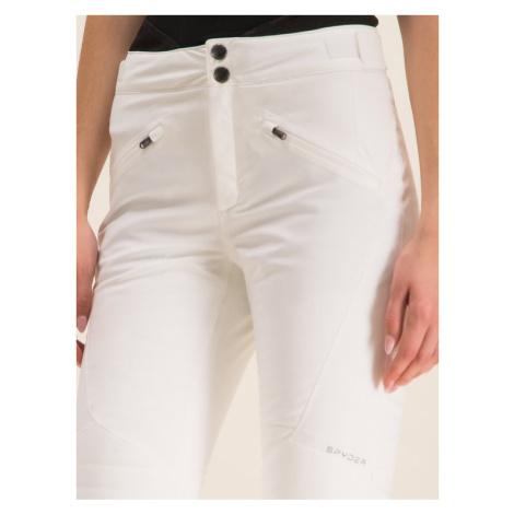 Spyder Spodnie narciarskie Echo 193020 Biały Regular Fit
