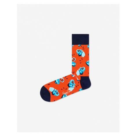 Happy Socks Clean Elephant Skarpetki Czerwony