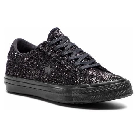 Tenisówki CONVERSE - One Star Ox 162617C Black/Black/Black