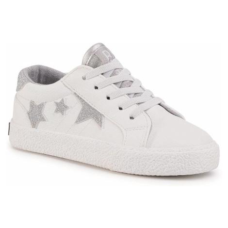 Sneakersy BIG STAR - FF374034 White/Silver