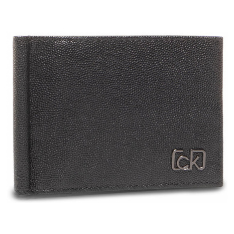 Calvin Klein Etui na karty kredytowe Bifold 6Cc W/Money Clip K50K505965 Czarny