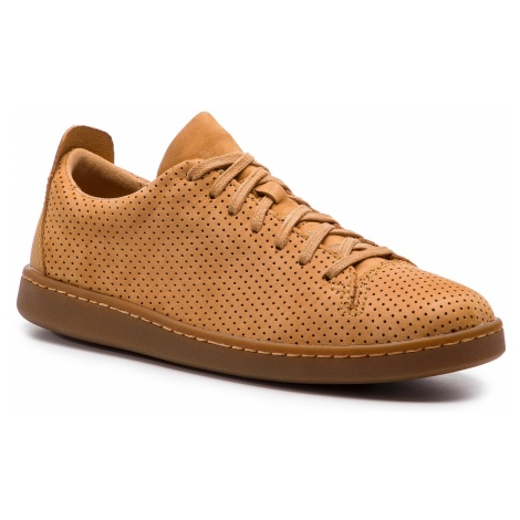 Sneakersy CLARKS - Nathan Limit 261416187 Light Tan Nubuck