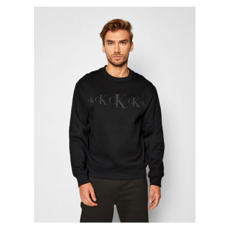 Calvin Klein Jeans Bluza J30J316520 Czarny Regular Fit