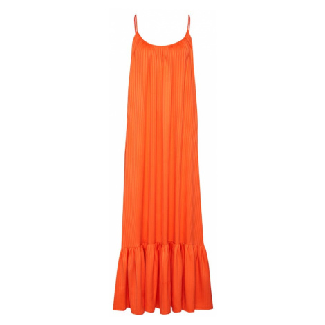 Y.A.S Sukienka 'YASLEORA STRAP MAXI DRESS FT' pomarańczowy