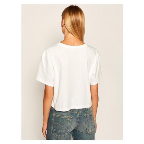 Vans T-Shirt Bundlez Bell Tee VN0A4SDT Beżowy Relaxed Fit