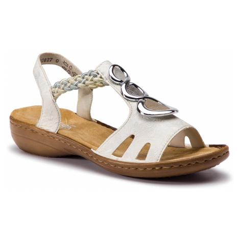 Sandały RIEKER - 608T8-81 Weiss