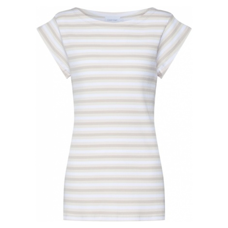 Calvin Klein Koszulka beżowy / biały